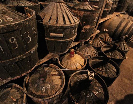 Armagnac-Claverie-cellar