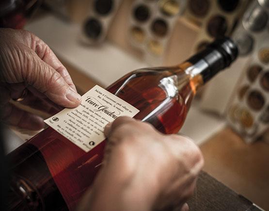 Armagnac-Goudoulin-bottle-labeled
