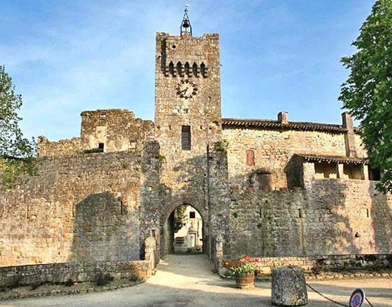 Armagnac-Larressingle-castle