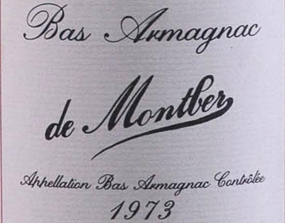 Armagnac-Montber-label