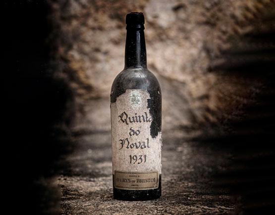 bottle port quinta do noval 1931