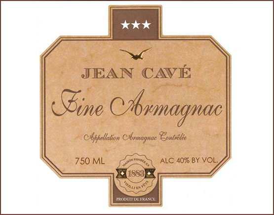 Armagnac-Jean-Cave-label