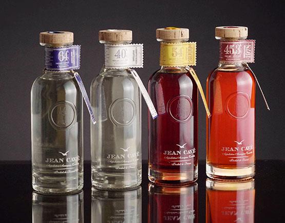 Armagnac-Jean-Cave-tasting-bottles