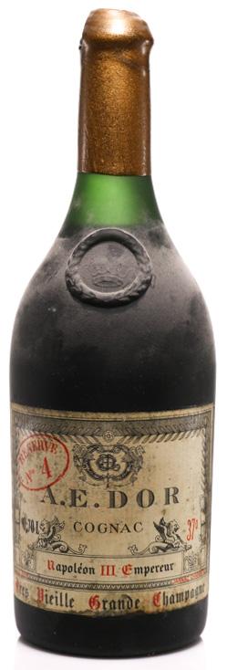 Cognac 1858 A.E. DOR No. 4 Napoléon III