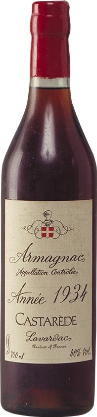 Armagnac 1934 Castarède, Ténaréze