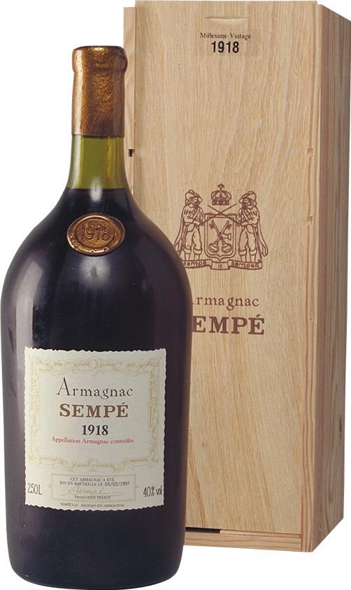 Armagnac 1918 Sempé (3736)