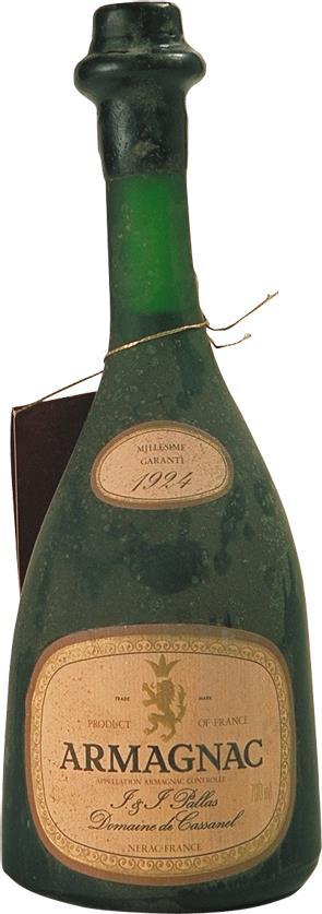 Armagnac 1924 Pallas J. & J. (3966)