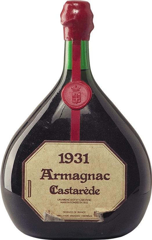 Armagnac 1931 Castarède 1.5L (4039)