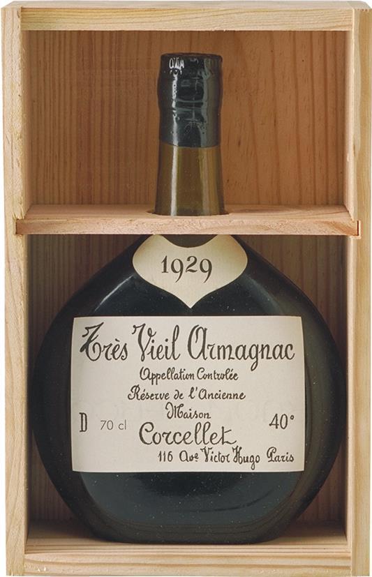 Armagnac 1929 Corcelet (4045)