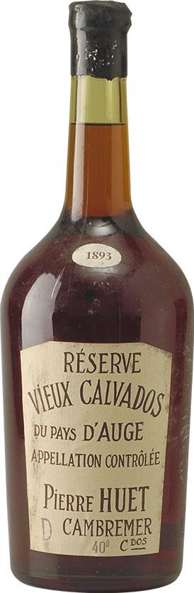 Calvados 1893 Domaine de Pierre Huet Magnum (4097)