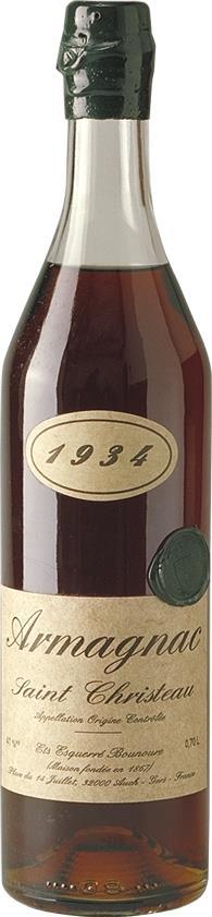 Armagnac 1934 Saint Christeau (4248)