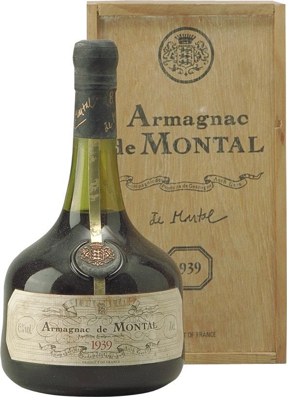 Armagnac 1939 De Montal (4568)