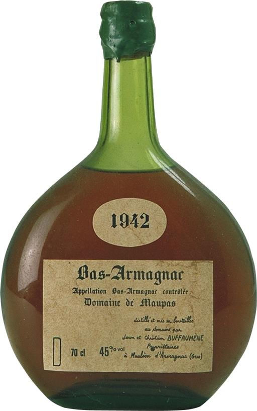 Armagnac 1942 Domaine de Maupas (4571)