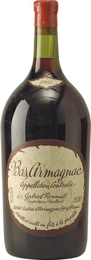 Armagnac 1962 Gabriel Roumat (4621)