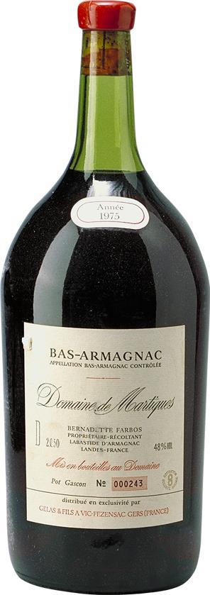Armagnac 1975 Domaine de Martiques (4622)