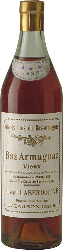 Armagnac 1930 Laberdolive (1368)