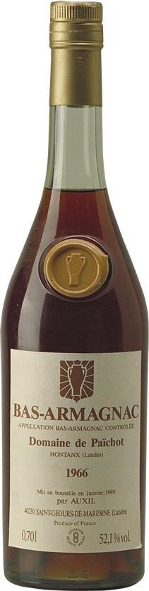 Armagnac 1966 Domaine de Paichot (4670)