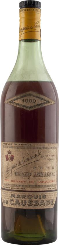 Armagnac 1900 Marquis de Caussade (4930)