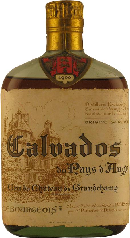 Calvados 1900 Château Grandchamp (20166)