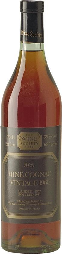 Cognac 1960 Hine Wine Society (5293)