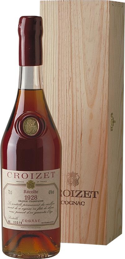 Cognac Croizet 1928 Grande Champagne (5564)