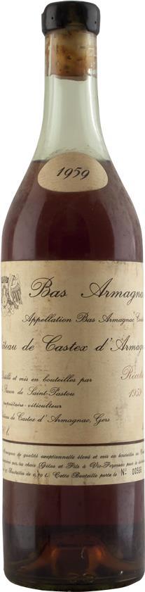 Armagnac 1959 Château de Castex (5902)
