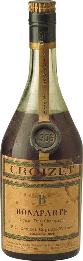 Cognac 1906 Croizet Bonaparte Fine Champagne 70cl (6276)