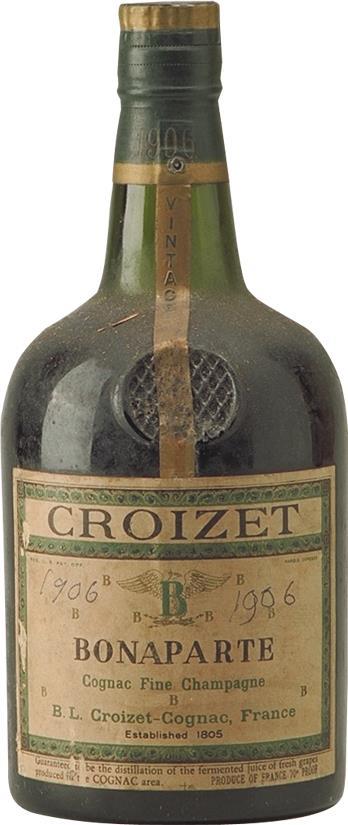 Cognac 1906 Croizet Bonaparte Fine Champagne (6281)