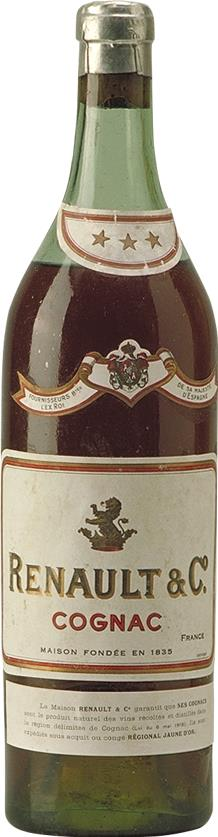 Cognac 1930s Renault & Co Three star (6511)
