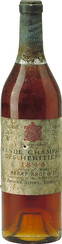 Cognac 1848  des Héritiers Berry Brothers & Rudd (7049)