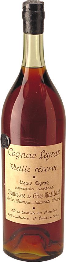 Cognac Leyrat Vieille Reserve - 80s botteling (7493)