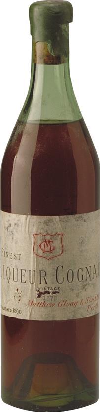 Cognac 1878 Matthew Gloag & Son (1887)