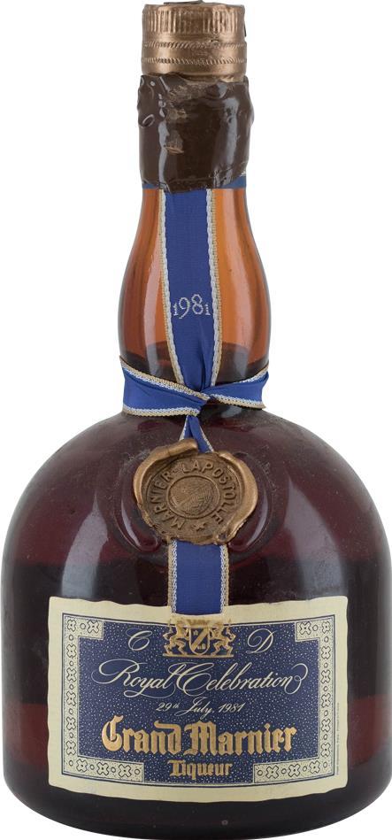 Liqueur 1981 Grand Marnier (8413)