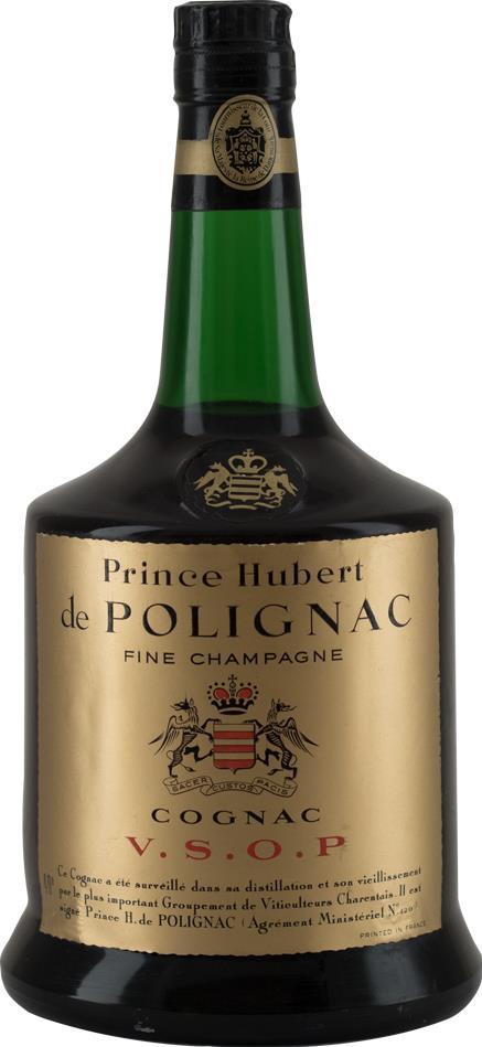 Cognac VSOP Prince Hubert de Polignac 1970s (9161)