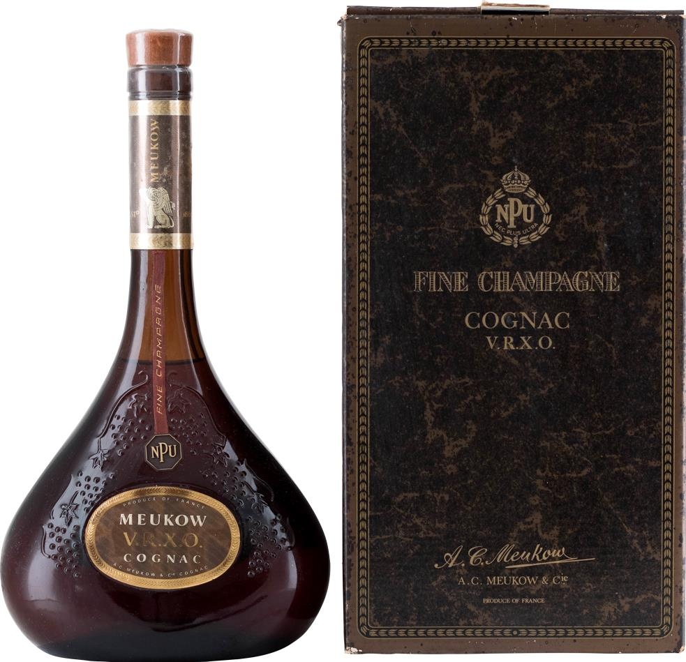 Cognac Meukow NEC Plus Ultra 1980s