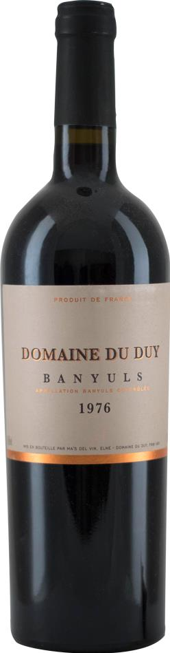 1976 Banyuls Domaine du Duy (9951)