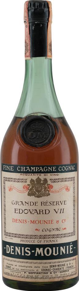 Cognac Denis-Mounié Edovard VII Magnum 1960's (10222)
