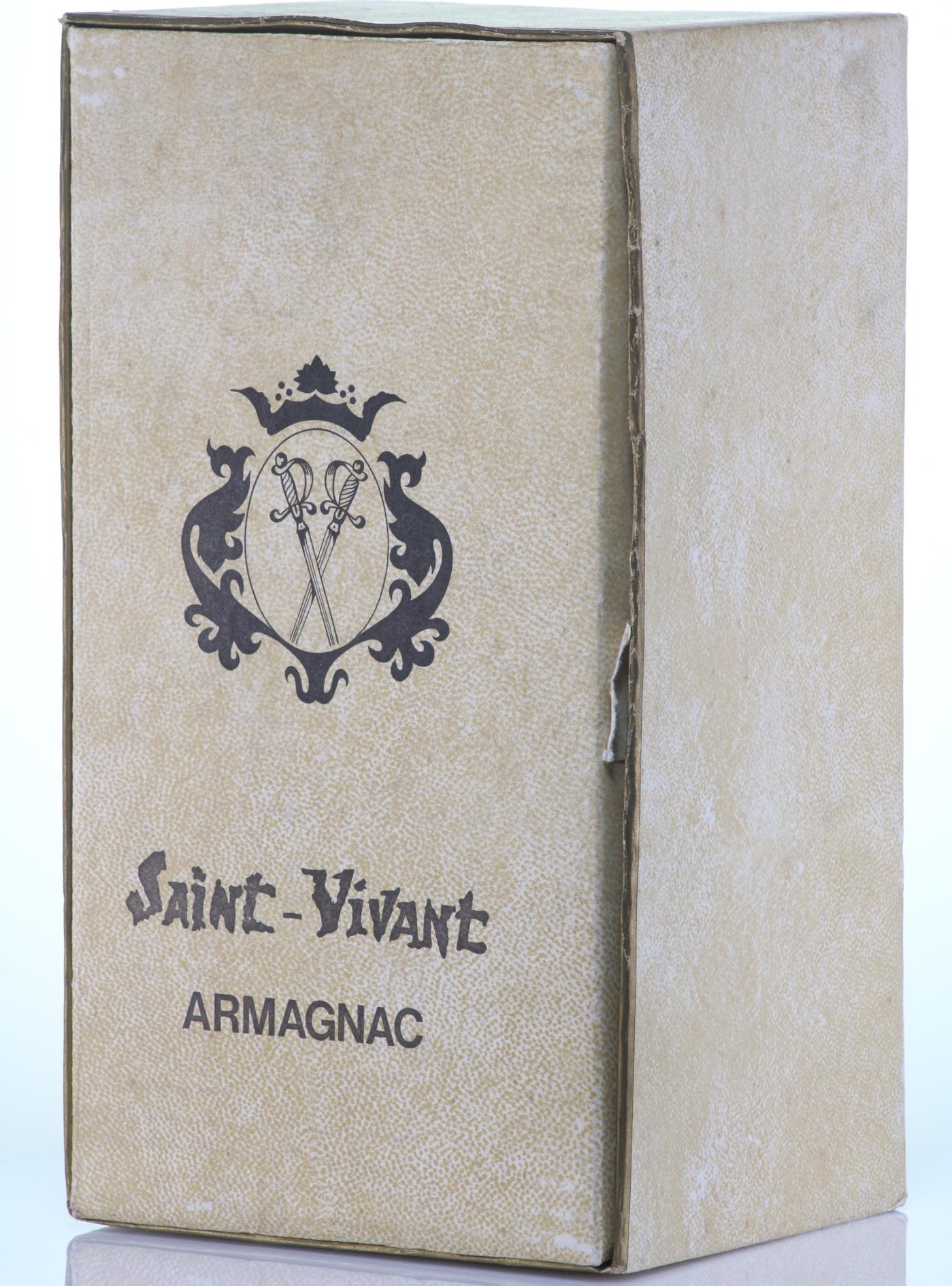 Armagnac 1920 Saint-Vivant de la Salle